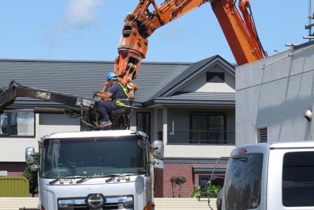 家の解体工事のやり方