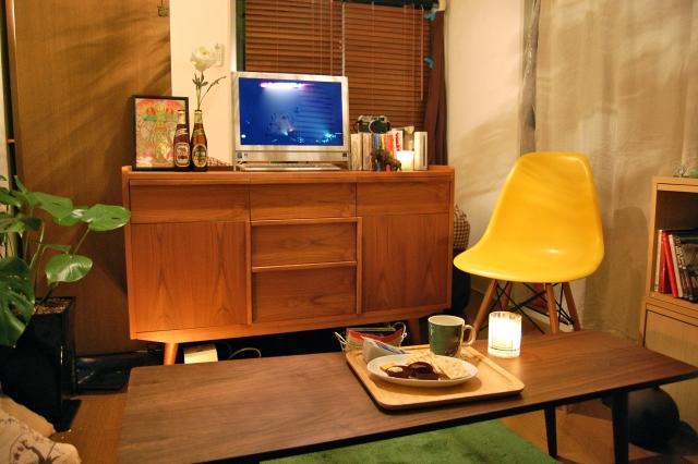 解体工事と家具