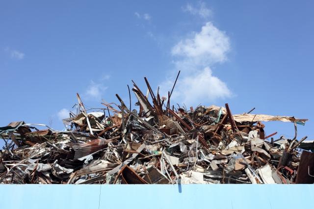 解体工事と産業廃棄物