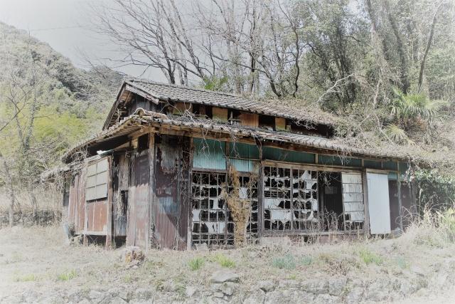 古家の解体